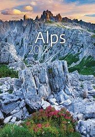 Kalendář nástěnný 2015 - Alps