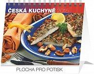 Kalendář 2015 - Česká kuchyně Praktik - stolní týdenní