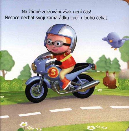 Náhled Malý chlapec - Vaškova motorka