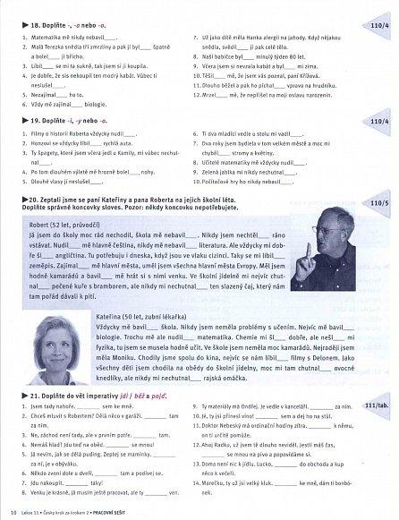 Náhled Česky krok za krokem 2 - Pracovní sešit 11–20