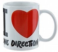 Hrnek keramický - One Direction/I Love One Direction