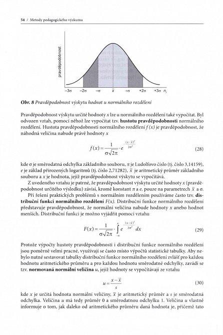 Náhled Metody pedagogického výzkumu - Základy kvantitativního výzkumu