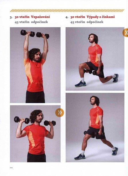 Náhled Lean in 15 - 15minutové recepty a tréninky pro štíhlé a zdravé tělo