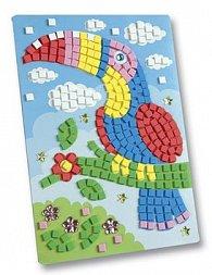 Mozaikový obrázek Papoušek