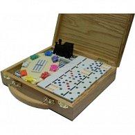 Domino 12 - Mexický vlak - HOT Games Dřevo