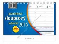Kalendář 2015 - Poznámkový sloupcový sto