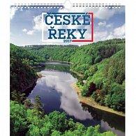 Kalendář nástěnný 2017 - České řeky