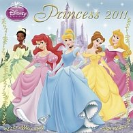 Kalendář 2011 - Walt Disney - Princezny (30x60) nástěnný poznámkový