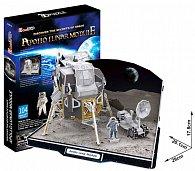 Puzzle 3D Lunární modul Apollo - 104 dílků