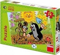 Puzzle Krtek