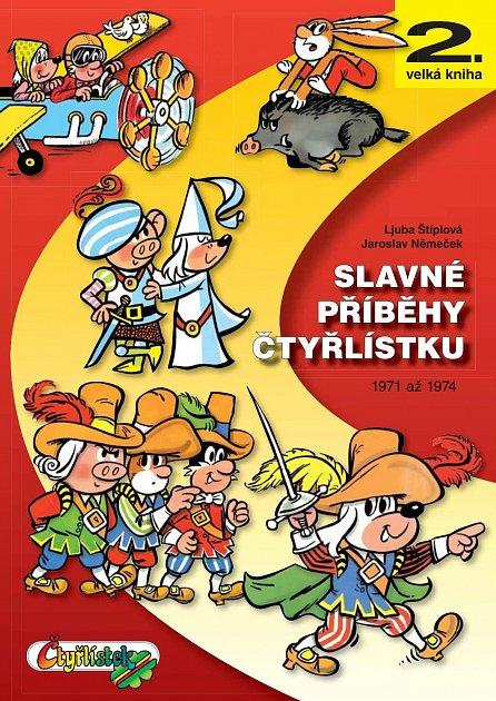 Náhled Slavné příběhy čtyřlístku 1971-1974 - 2. velká kniha
