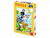 Krtek a raketa - Puzzle 24
