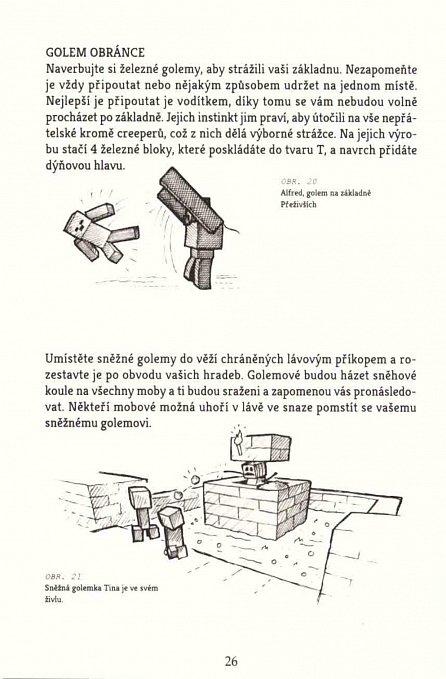Náhled MINECRAFT kniha tajemství pro přežití