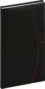 Diář 2015 - Tailor - Kapesní, černočervená (CZ, SK, GB, DE)
