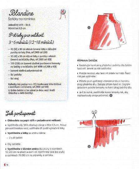 Náhled Šijeme pro miminko - 28 snadných oblečků a doplňků, včetně střihové přílohy