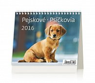 Kalendář stolní 2016 - MiniMax - Pejskové