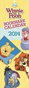 Kalendář 2014 - W. Disney Medvídek Pú kalendář s 12 záložkami do knihy