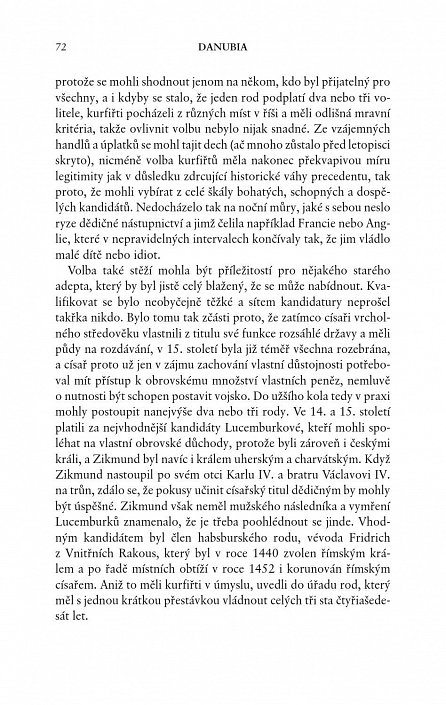 Náhled Danubia - Osobní pohled na dějiny habsburské Evropy