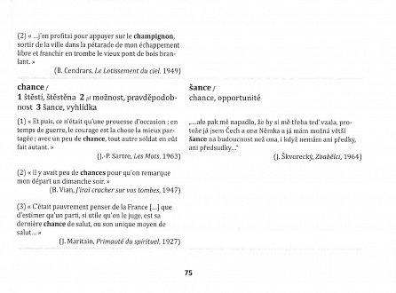 Náhled Zrádná slova ve francouzštině