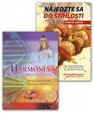 Balíček 2 ks Najedzte sa do štíhlosti + Harmónia zdravia, krásy vitality