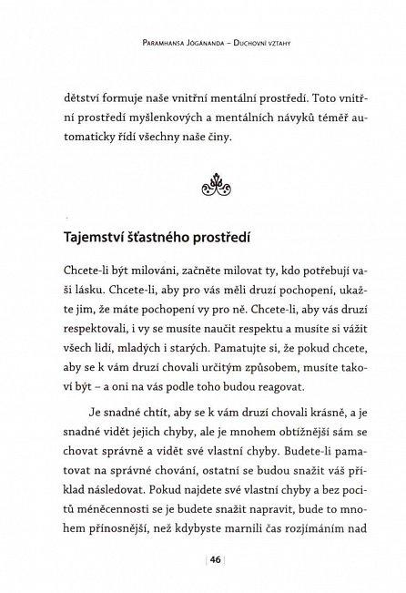 Náhled Duchovní vztahy - Moudrost Jógánandy 3.