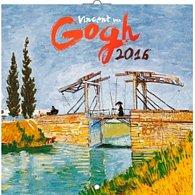 Kalendář nástěnný 2016 - Vincent van Gogh, poznámkový  30 x 30 cm