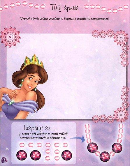 Náhled Úkoly a hry pro princezny se spoustou samolepek - Náhrdelník uvnitř!