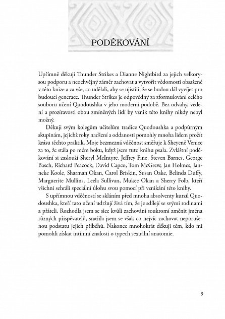 Náhled Sexuální praktiky Quodoushka - Učení z nagualské tradice