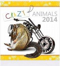 Crazy animals 2014 - nástěnný kalendář