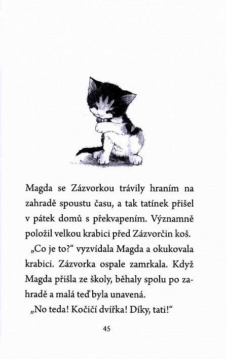 Náhled Ustrašené kotě
