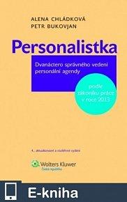 Personalistka, 4. vydání, aktualizované a rozšířené pro rok 2013 (E-KNIHA)
