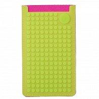 Pixel Obal na telefon Velký Fuchsiová/Jablečná zelená