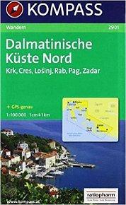 Dalmatinische Küste Nord 2901 / 1:100T NKOM