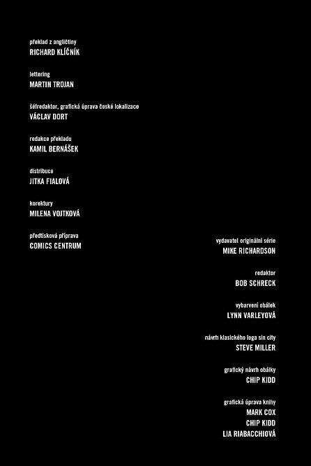 Náhled Sin City 4 - Ten žlutej parchant váz.