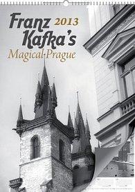 Kalendář 2013 - Magická Praha Fr. Kafky