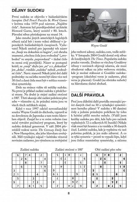 Náhled Sudoku - Staňte se mistry - 800 luštěnek a podrobný výklad, jak se zdokonalit