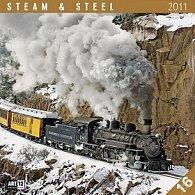 Kalendář 2011 - Steam & Steel (30x60) nástěnný poznámkový