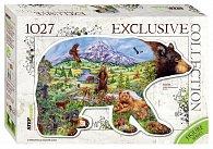 Puzzle 1027 Medvěd (obrysové puzzle)