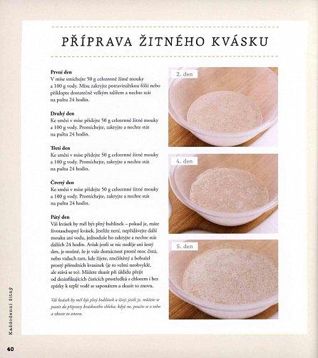 Náhled Kváskové pečení - Naučte se péct chléb a pečivo s kvásky