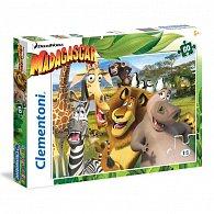 Puzzle Supercolor 60 dílků Madagascar
