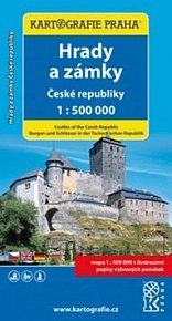 Hrady a zámky České republiky, 1:500 000