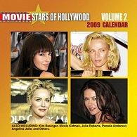 Movie Stars of Hollywood 2009 - nástěnný kalendář