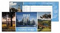 Slovensko 2015 Stolový kalendár