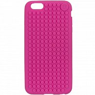 iPhone 6 plus Pixel Case fuchsiová