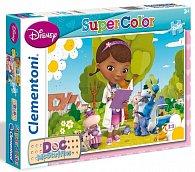 Puzzle Supercolor Doktorka Plyšáková 2x20 dílků