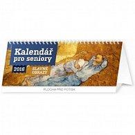 Kalendář stolní 2016 - Kalendář pro seniory, 2016, 33 x 12,5 cm