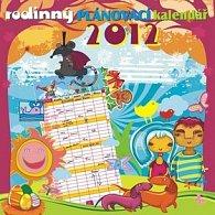 Kalendář nástěnný 2012 - Plánovací rodinný, 30 x 60 cm