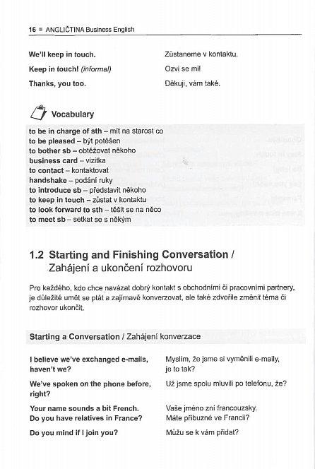 Náhled Angličtina Business English - Osobní a písemná komunikace, telefonování, porady, vyjednávání, prezentace