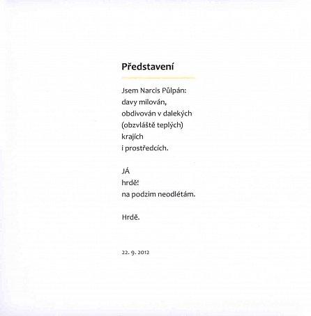 Náhled Narcis Půlpán: Nečekaný podzim Narcise Půlpána