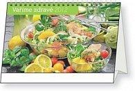 Kalendář stolní  2012 - Vaříme zdravě, 23,1 x 14,5 cm